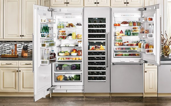 difference between high-end and regular refrigerators