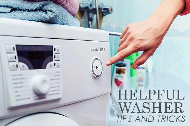 washer tips